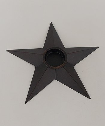 Black Star Votive Holder