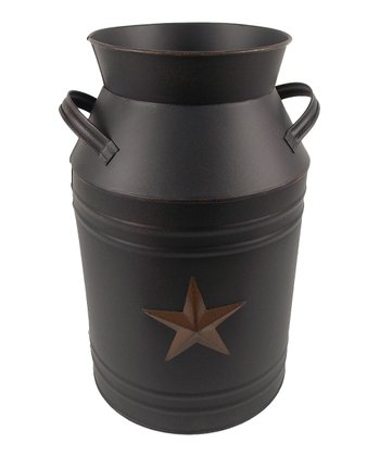 Black Star 13'' Milk Can