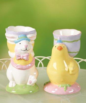 Easter Party Egg Holder Set