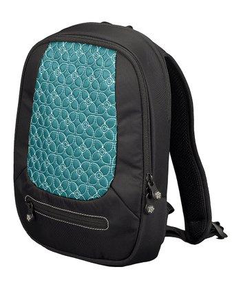 Sherpani Jade & Black Floral Vega Backpack