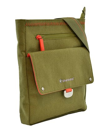 Sherpani Olive Skeet Crossbody Bag