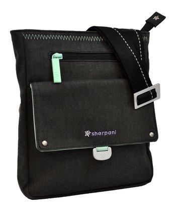 Sherpani Heather Black Skeet Crossbody Bag