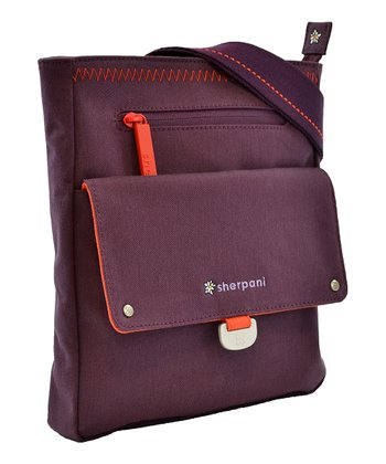 Sherpani Plum Skeet Crossbody Bag