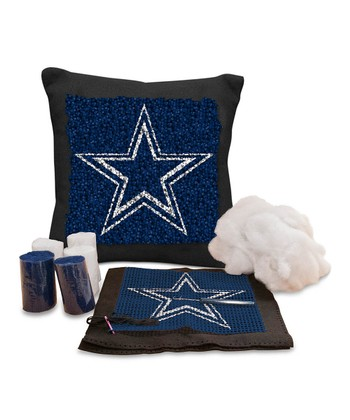 Dallas Cowboys Latch Hook Pillow Kit