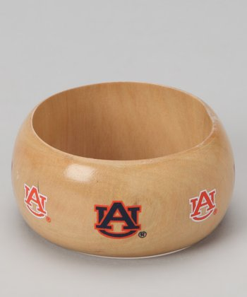 Auburn Light Wood Bangle