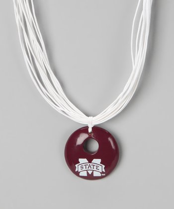 Mississippi State Pendant Necklace