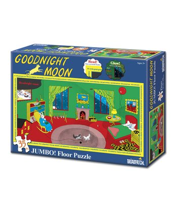 Goodnight Moon Glow-in-the-Dark Floor Puzzle