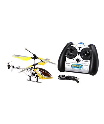 Yellow Gen-X Infrared Remote Control Helicopter