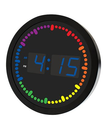 Blue Big Digital LED Clock