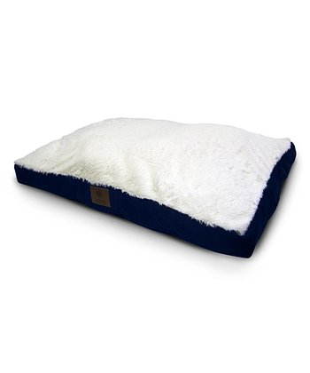 Blue Gusset Dog Bed