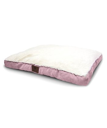 Pink Gusset Dog Bed