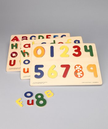 Critical Thinking Co. Alphabet & Number Puzzle Set