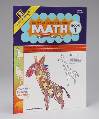 Complete the Picture Math Book 1 Paperback