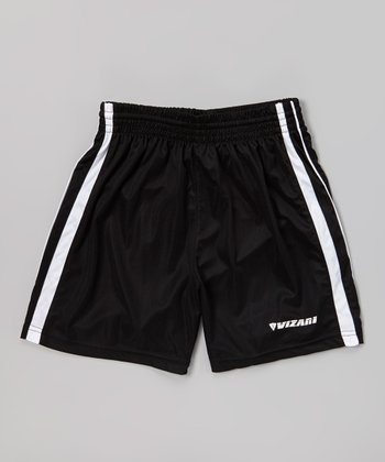 Black Campo Soccer Shorts - Kids & Adult