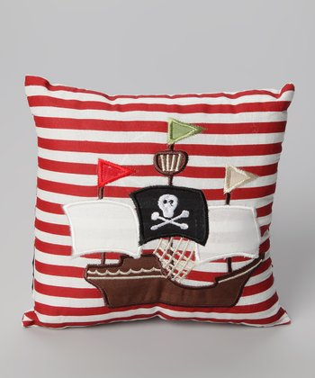 Pirate Boat Pillow
