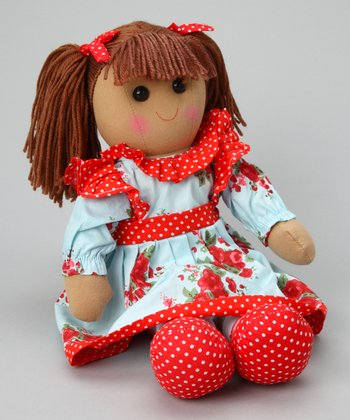Blue Rose Dress Doll