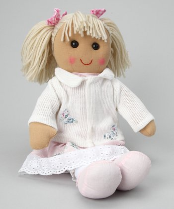White Cardigan Doll