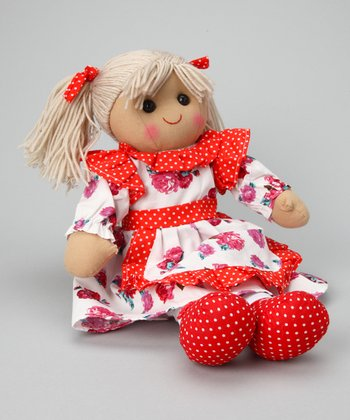 Red Rose Dress Doll