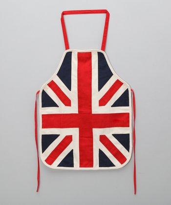 Powell Craft Union Jack Apron - Kids