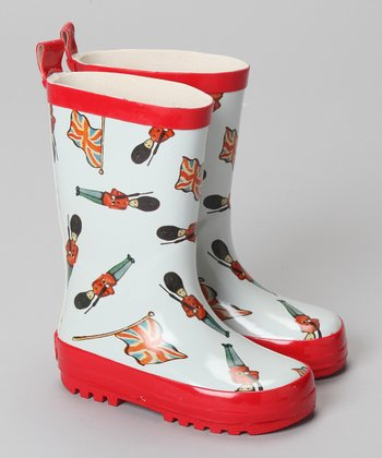 Vintage Soldier Wellington Rain Boot