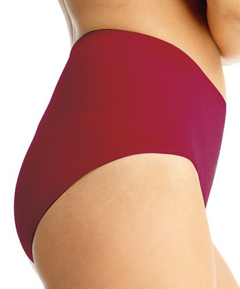 Scooter Red Shaper Briefs - Women