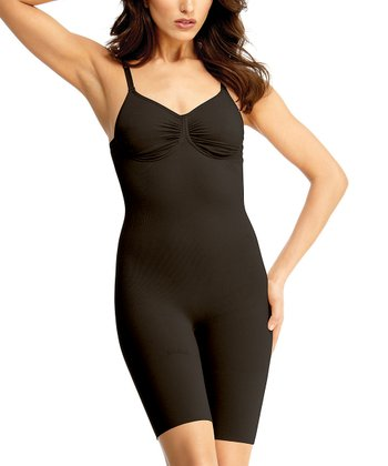 Black Underwire Full Shaper Bodysuit - Women