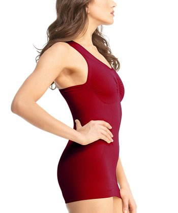 Scooter Red Sports Shaper Tank - Women