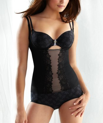 Black Torsette Shaper Camisole - Women
