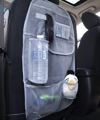 Gray Back Seat Organizer