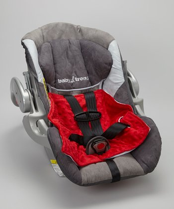 Road Tripzzz Red Dri-Seatzzz Car Seat Pad