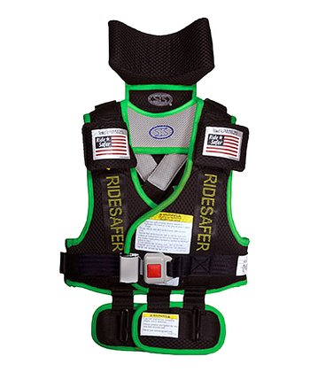 Safe Ride 4 Kids Green RideSafer® 3 Travel Vest