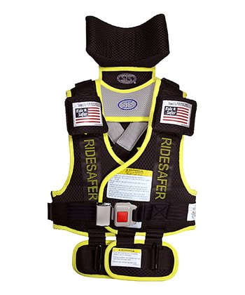 Safe Ride 4 Kids Yellow RideSafer® 3 Travel Vest