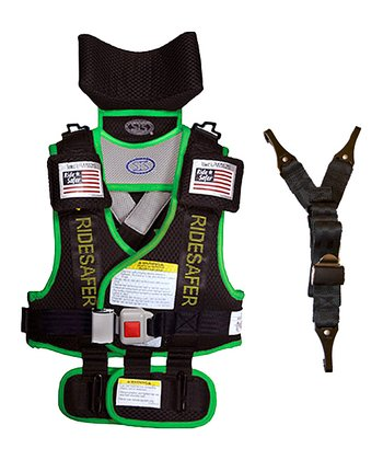Safe Ride 4 Kids Green RideSafer® 2 Travel Vest