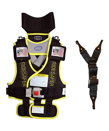 Safe Ride 4 Kids Yellow RideSafer® 2 Travel Vest