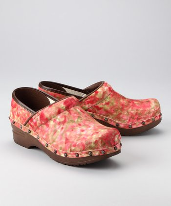 Red Arven Clog - Women