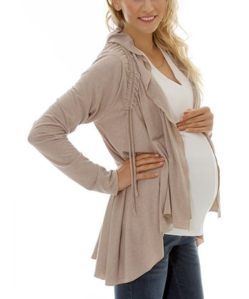 Makeup Maternity & Nursing Open Cardigan - Women