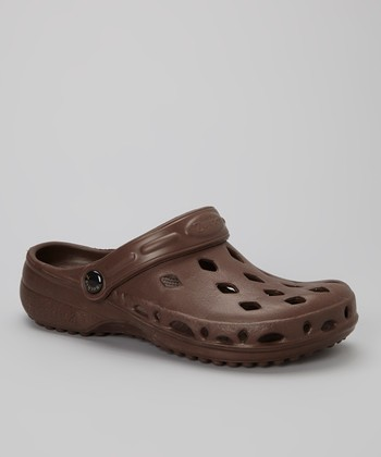 Chocolate Brown Breeze Clog - Women