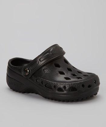 NothinZ Black Ink Clog - Kids