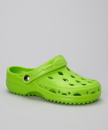NothinZ Lime Green Breeze Clog - Women