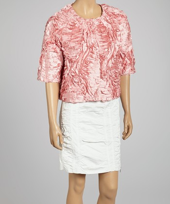Rose Ruffle Jacket