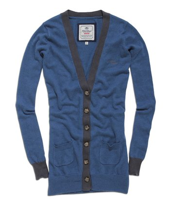 Petrol V-Neck Cardigan