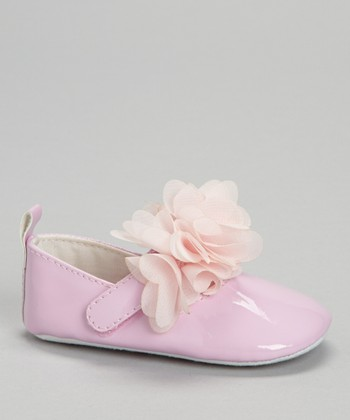 Laura Ashley Pink Blossom Strap Mary Jane