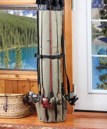 Deluxe Fishing Rod Organizer