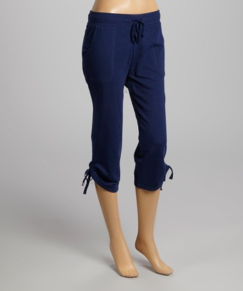 Ocean Blue Capri Lounge Pants