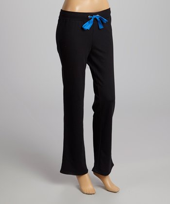 Black & Palace Blue Lounge Pants