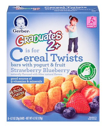 Graduates Berry Fruit & Yogurt Cereal Twist Box - Set of Six