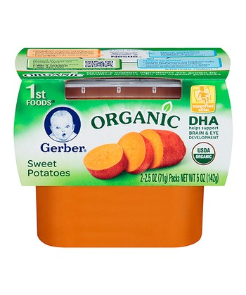 1st Foods Organic Sweet Potato Puree Two-Pack - Set of Eight