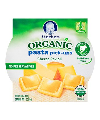 Organic Cheese Ravioli Pasta Pick-Ups Tray - Set of Eight