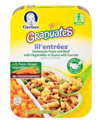 Graduates Pasta, Beef & Vegetables Entrée - Set of Eight
