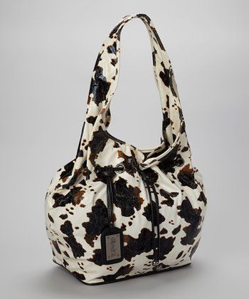 Black & White Cow Hobo